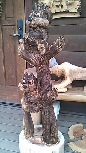 木登りリス